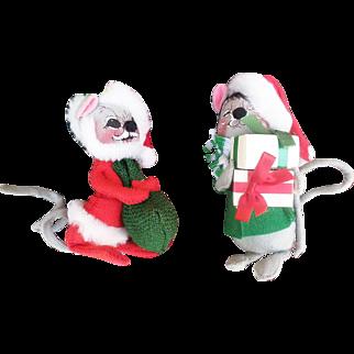 Annalee Christmas Mice Dolls