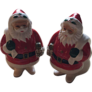 Napier Japan Ceramic Santa Claus Salt and Pepper Shakers