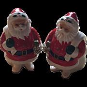Napier Japan Ceramic Santa Claus Salt and Pepper Shakers