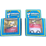 Peanuts Snoopy Friction Power Toy Set