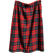 Pendleton Boyd Tartan Plaid Skirt