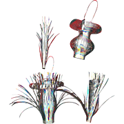 Unique Silver Tinsel Ornaments