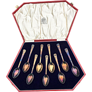 1937 Coronation Bravington's King's Cross Spoon Set