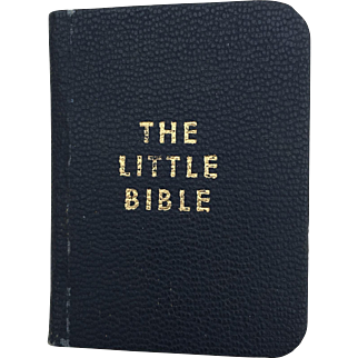 Miniature The Little Bible