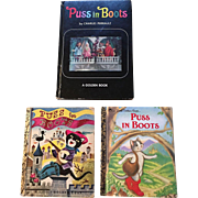 First Editions Puss In Books Golden Book Set