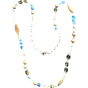 Quality Southwest Peyote Bird Beaded Necklace