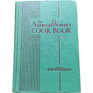 1945 The American Woman's Cookbook