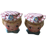 Lefton Miss Dainty Salt and Pepper Shakers