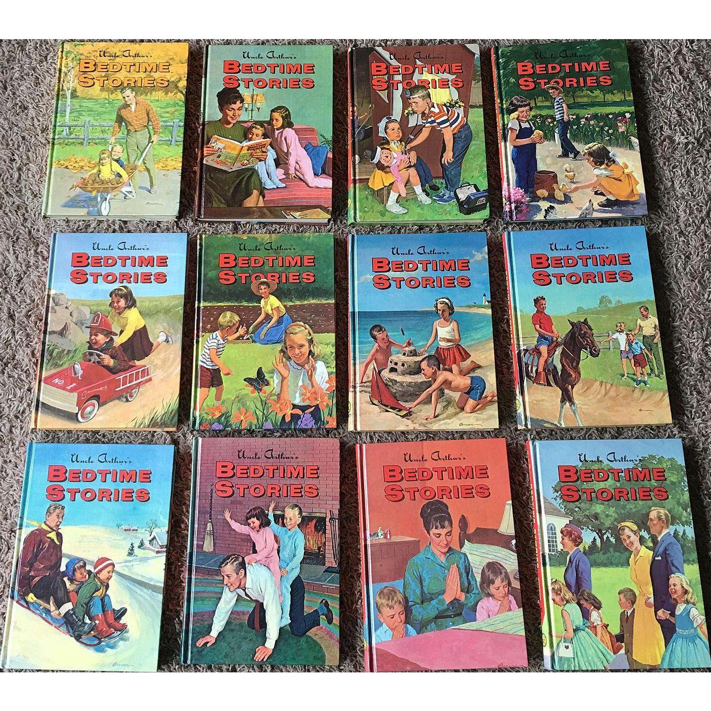 1960's Uncle Arthur 12 Volume Children Book Set