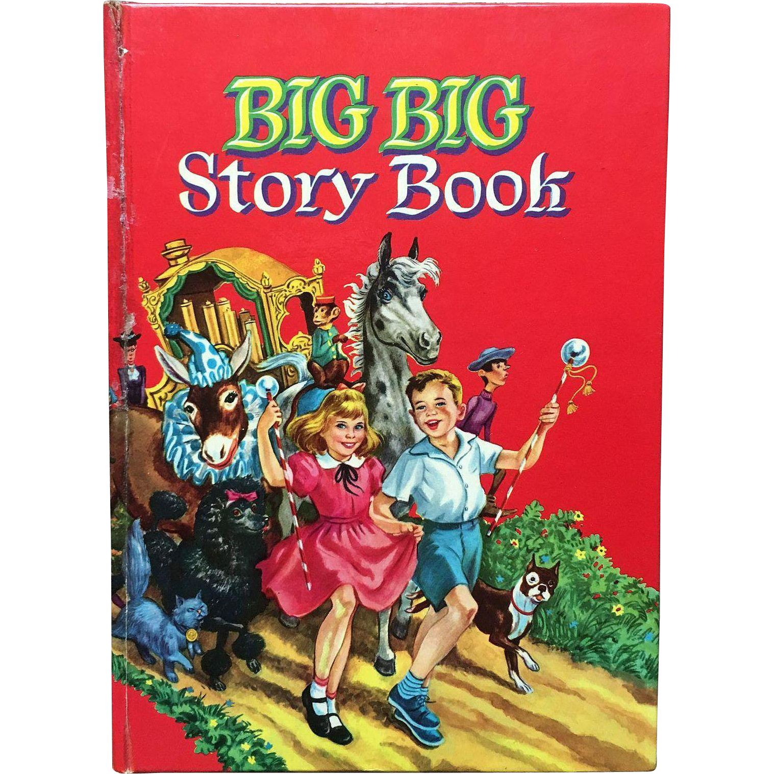 1955 Whitman Big Big Story Book