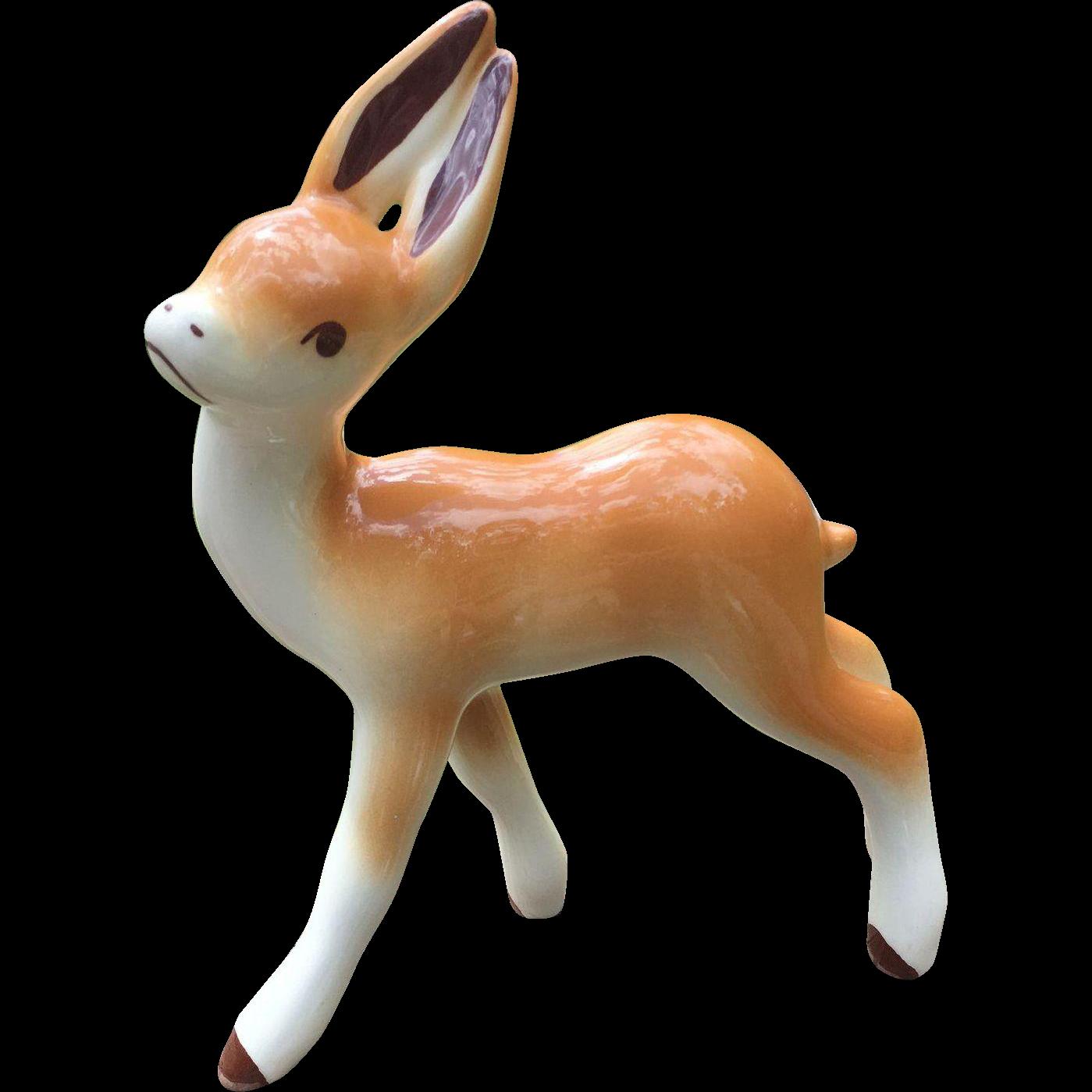 California Pottery Robert Simmons Deer Figurine