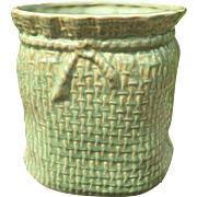 McCoy Pottery Green Jardiniere