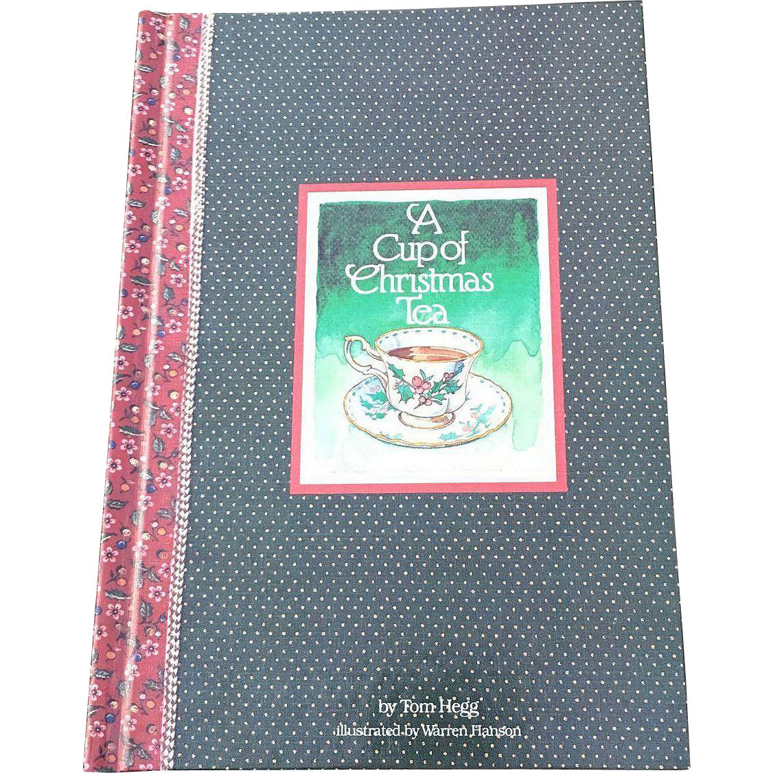 1982  A Cup Of Christmas Tea Book