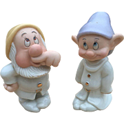 Lenox Dopey and Sneezy Salt and Pepper Shaker Set