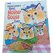 Large Golden Press 1970 Richard Scarry's Best Mother Goose Ever