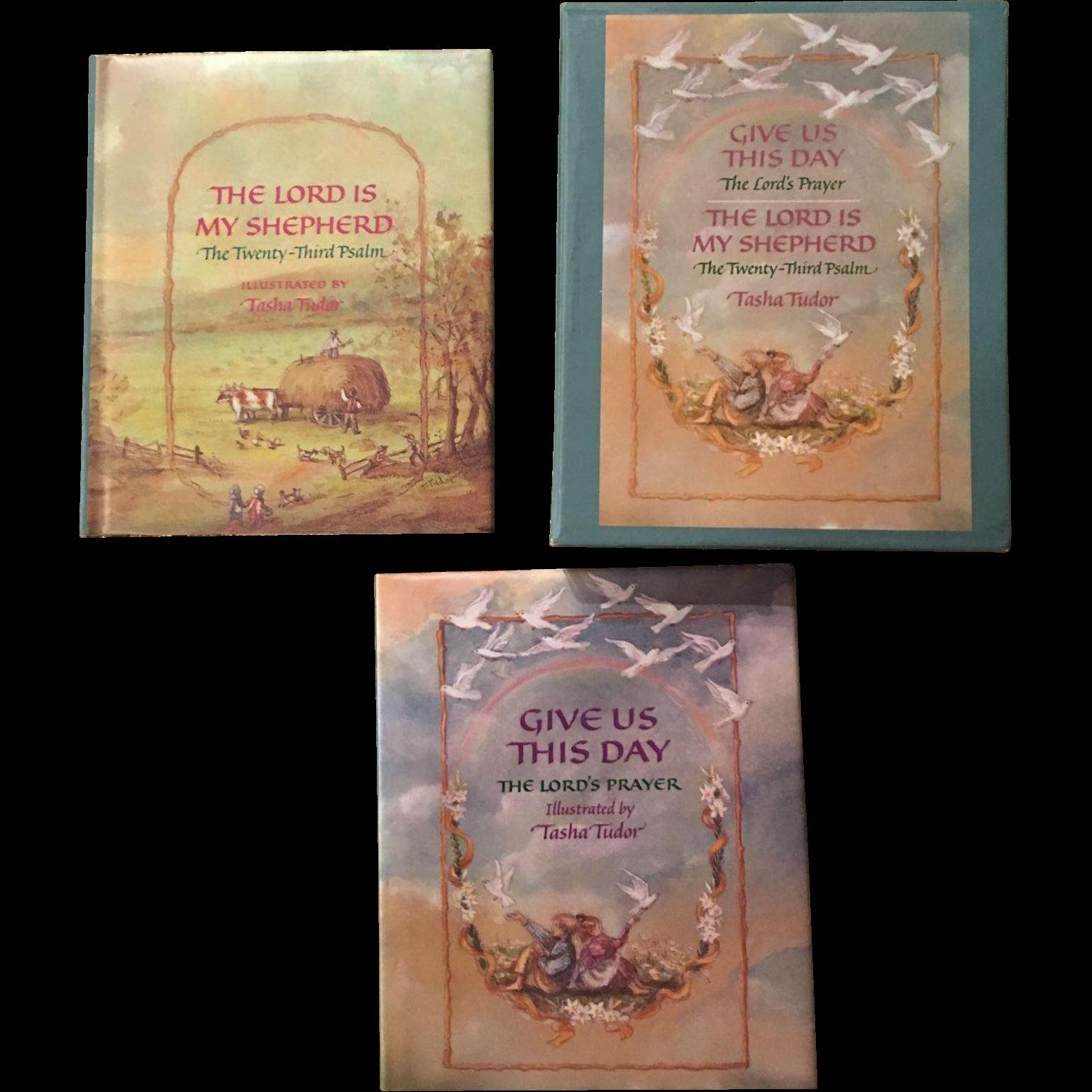1989 Tasha Tubor Christian Miniature Book Set