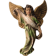 Ceramic Japan Christmas Angel Wall Figurine