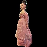 Unusual & Wonderful Carved Wood Grodnertal Doll