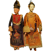 Pair of Wonderful Chinese Opera Dolls