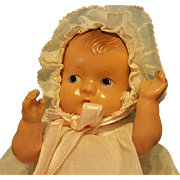 """Darling 7"""" Effanbee Compo Baby Tinyette!"""