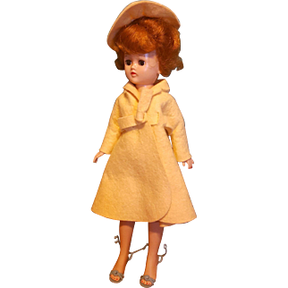Vintage Vogue Jill Doll, Great Tagged Outfit