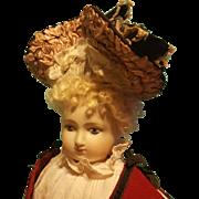 Gorgeous & Fancy French fashion Bonnet ~ Artist Made
