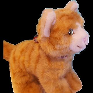 Vintage Steiff Cat, Orange Tabby
