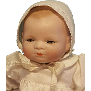 Darling Antique All Bisque Bye-Lo Baby, Sleep Eyes