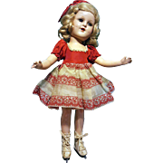 "14"" Sonja Henne Doll, All Original"