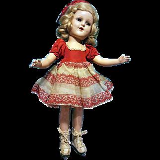 "14"" Sonja Henne Doll, All Original"
