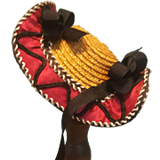 "Deux Bonjour Bonnet for French Fashion, 5.5-6"" Head Circumference"