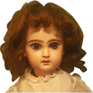 """Mohair Wig For Small Bebe ~ Artist-Made - 6.5"""" Head"""