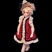 """Dress & Bonnet for 6"""" Mignonette ~ Artist-Made, Cherie's Petite Boutique"""