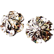 Vintage BELLINI bridal earrings signed