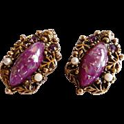 SELRO Renaissance Revival clip earrings
