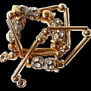 Art Deco style flapper necklace vintage