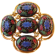 Light of the East Sarah Coventry brooch pin