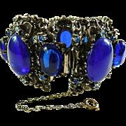 Bold Rennaisance Revival Selro style bracelet large
