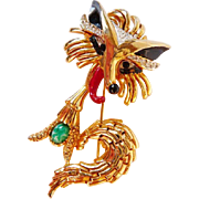 Kramer fox pin brooch