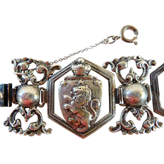 Peruzzi sterling silver bracelet