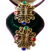 Les Bernard clip earrings