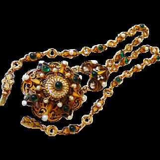 Hobe Austro~Hungarian necklace