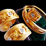 Elizabeth Taylor Avon jewelry set