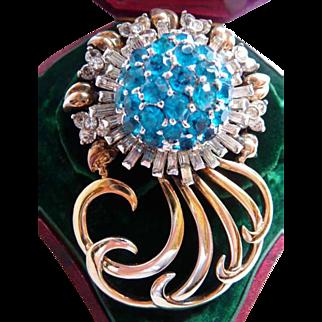 Pennino sterling silver pin brooch