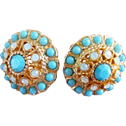 vintage Sarah Coventry clip earrings