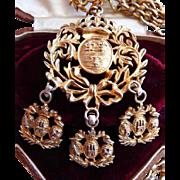 Nettie Rosenstein sterling silver necklace