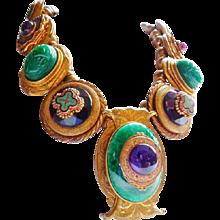 vintage Patrice Bohemian necklace