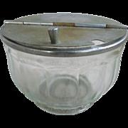 Vintage Lift Top Soda Fountain Sugar Bowl Medco NYC