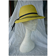 Jaunty Junior Seasons Yellow and Black Hat