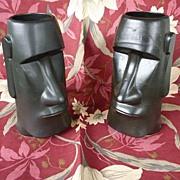 OMC Maori Easter Island Vintage Tiki Mug Black